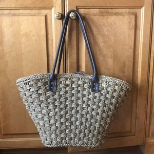 J. Crew | Straw Bag (large)